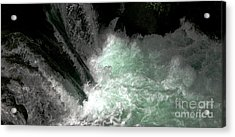 Light From Beneath Acrylic Print by Rich Collins