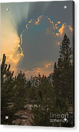 Light From Heaven Acrylic Print by Robert Bales