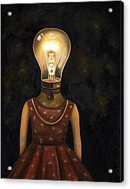 Light Headed Acrylic Print