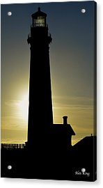 Acrylic Print featuring the photograph Light House by Alex King