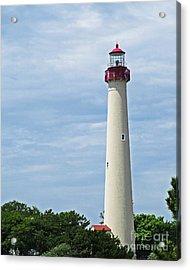 Light House At Cape May Nj Acrylic Print