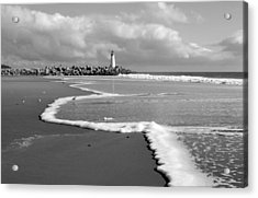 Santa Cruz - Light House Acrylic Print