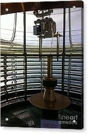 Acrylic Print featuring the photograph Light House Lamp by Susan Garren