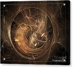 Light In Motion Acrylic Print by Leona Arsenault