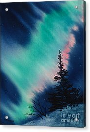 Light In The Dark Of Night Acrylic Print