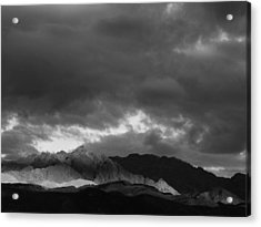 Light In The Mountains Acrylic Print by Jenny Fish