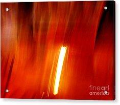 Light Intrusion Acrylic Print