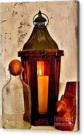 Light My Fire Acrylic Print by Marsha Heiken