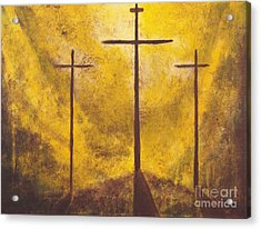 Light Of Salvation Acrylic Print by Wayne Cantrell