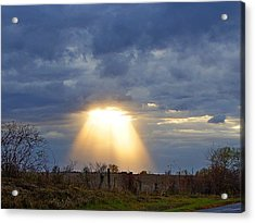 Light Of The Heavens Acrylic Print by Misty Dawn Seidel