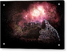 Light Of The Maya Acrylic Print