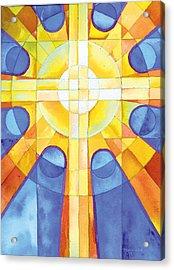 Light Of The World Acrylic Print by Mark Jennings