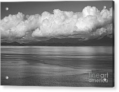 Acrylic Print featuring the photograph Light Over The Salish Sea by Inge Riis McDonald