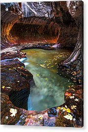 Light Passage Acrylic Print