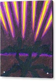 Light Penetrates The Gloom Acrylic Print