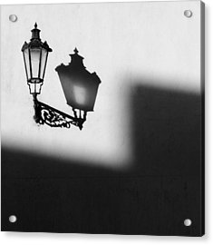 Light Shadow Acrylic Print by Dave Bowman