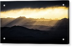 Acrylic Print featuring the photograph Light Shines In by Brian Bonham