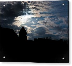Light Shines In Darkness 2 Acrylic Print by Marie Sullivan