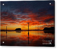 Acrylic Print featuring the photograph Light Show by Trena Mara