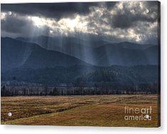 Light Shower Acrylic Print by Douglas Stucky