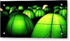 Light Tents Variation Five Acrylic Print
