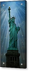 Light To The Nations Acrylic Print