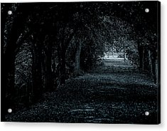 Acrylic Print featuring the photograph Light Tunnel by Lorenzo Cassina