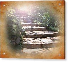 Light Unto My Path Acrylic Print