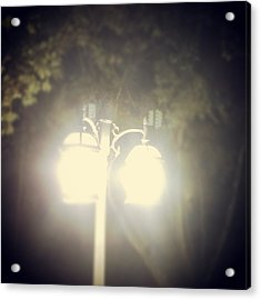 Acrylic Print featuring the photograph Light Up The Night by Thomasina Durkay