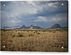 Light Upon The Hill Acrylic Print by Swift Family