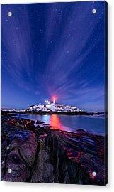 Light Vapor Acrylic Print by Michael Blanchette