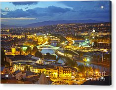 Light View To Old Town Of Tbilisi Acrylic Print