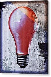 Lightbulb Acrylic Print by Bob Orsillo