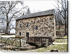 Lightfoot Mill At Anselma Chester County Acrylic Print by Bill Cannon