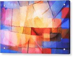 Lightforces Acrylic Print