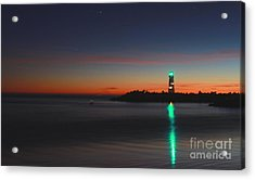 Acrylic Print featuring the photograph Lighthouse 6 by Theresa Ramos-DuVon