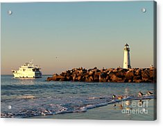 Acrylic Print featuring the photograph Lighthouse 8 by Theresa Ramos-DuVon
