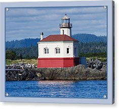 Acrylic Print featuring the photograph Lighthouse by Adria Trail