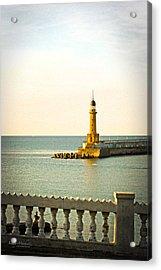 Lighthouse - Alexandria Egypt Acrylic Print