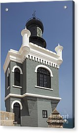 Lighthouse At El Morro Fortress Acrylic Print