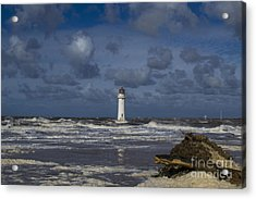 lighthouse at New Brighton Acrylic Print