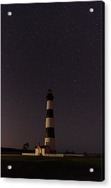 Acrylic Print featuring the photograph Lighthouse At Night by Gregg Southard