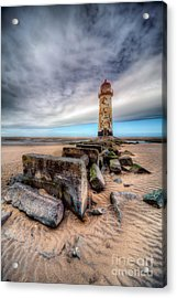 Lighthouse At Talacre  Acrylic Print
