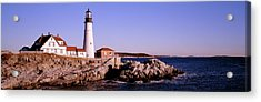 Lighthouse At The Coast, Portland Head Acrylic Print