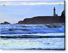 Lighthouse Blues Acrylic Print by Sheldon Blackwell