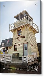 Lighthouse Cafe In North Rustico Acrylic Print by Elena Elisseeva