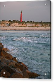 Lighthouse From The Jetty 2 Acrylic Print