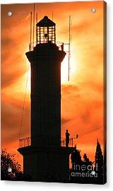 Acrylic Print featuring the photograph Lighthouse I by Bernardo Galmarini