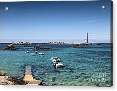 Lighthouse Ile Vierge Brittany France Acrylic Print by Colin and Linda McKie