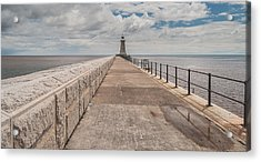 Lighthouse In North Shields Acrylic Print